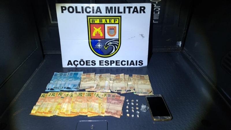 Foto: Polícia Militar - Material foi apreendido pela Polícia Civil