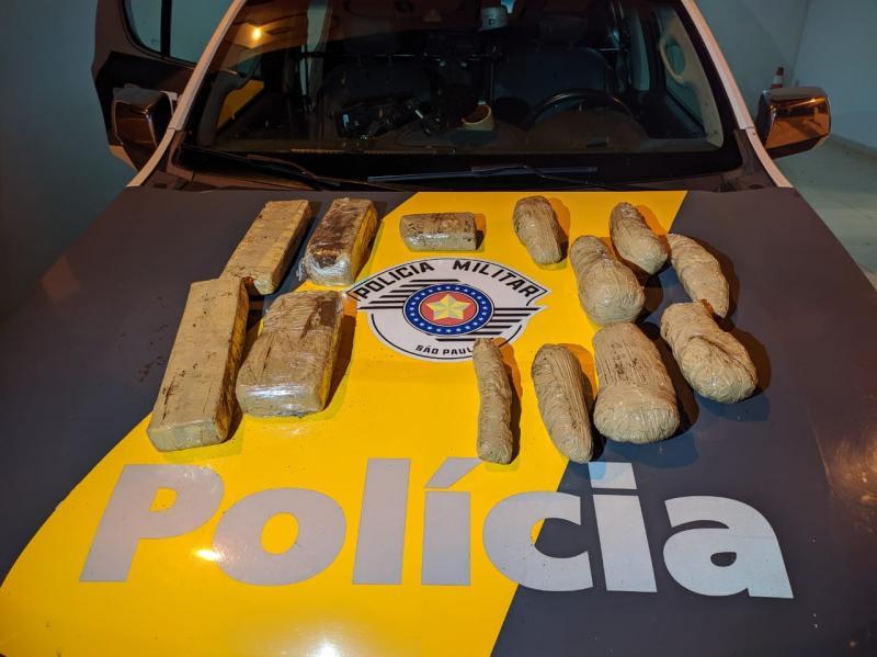 Polícia Militar Rodoviária – Entorpecente adquirido em Ponta Porã (MS) seria levado até Goiânia (GO)