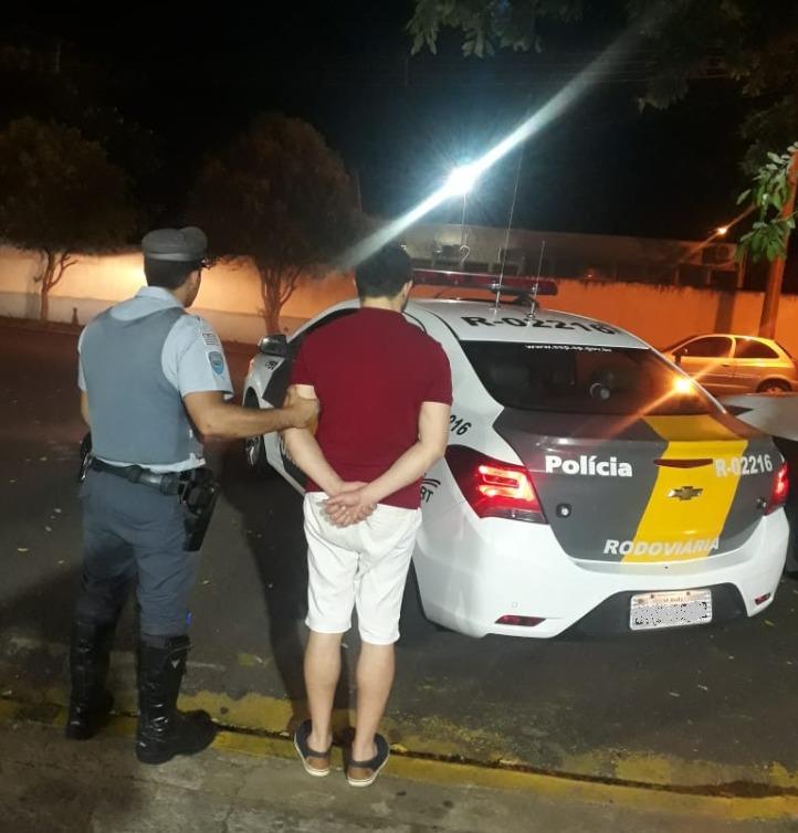 Polícia Militar Rodoviária - Morador de Londrina (SP), indiciado foi preso em flagrante em Venceslau