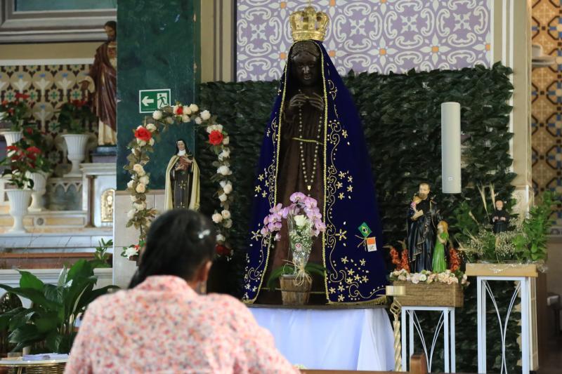 Jean Ramalho:Santuário de Nossa Senhora Aparecida sedia maioria da programação festiva