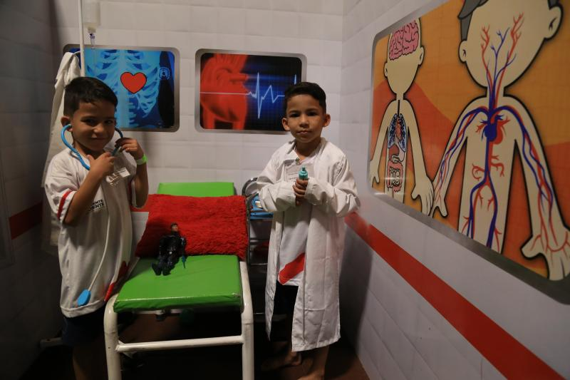 Marco Vinicius Ropelli - Cidadania: crianças abordaram importância do cadastro de doação de medula e sangue