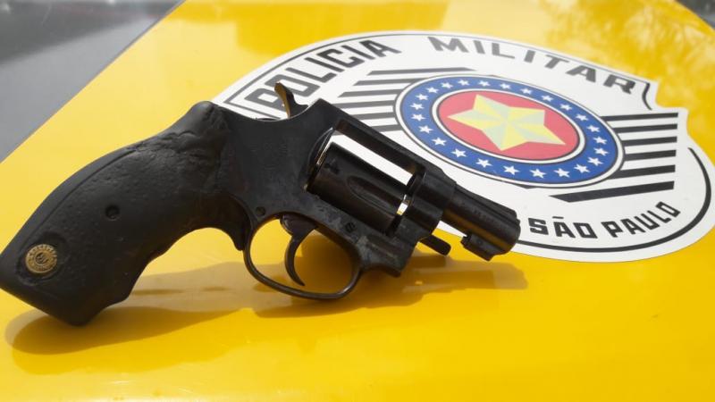 Polícia Militar Rodoviária - Arma estava escondida na cueca do autor