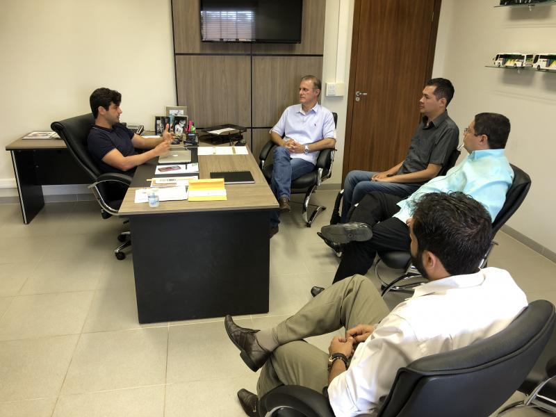Guilherme Santana/Secom - Anúncio foi feito hoje, durante reunião entre Prefeitura e diretoria da empresa