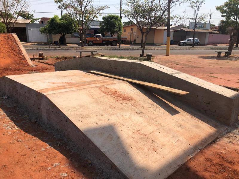 Cedidas/ Prefeitura de Teodoro Sampaio - Projeto foi elaborado a partir de conversas e pedidos dos skatistas da cidade