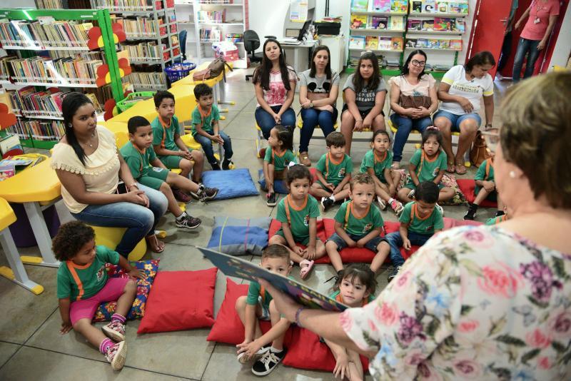 Paulo Miguel:Entre olhos atentos, risadas e apreensão, crianças saem do local muito felizes