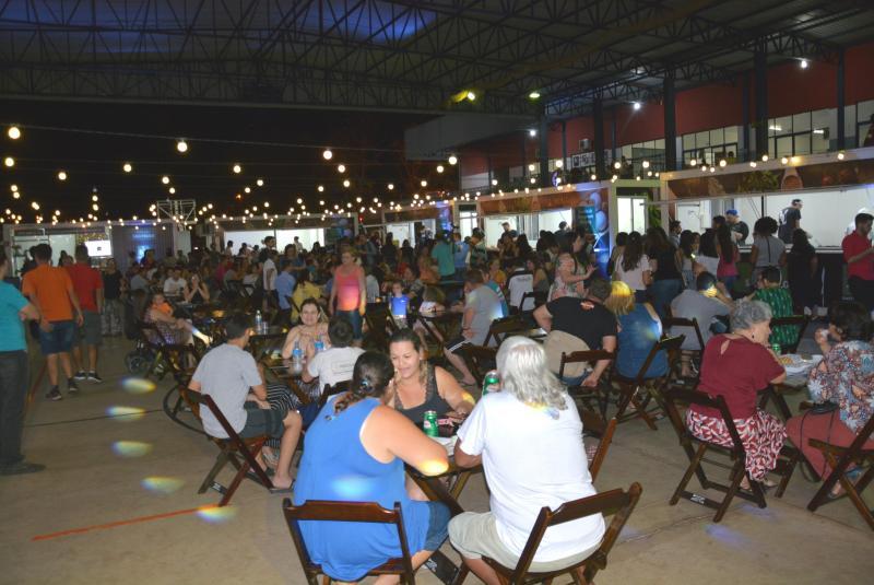 Secom:Organização estima cerca de mil visitantes no festival