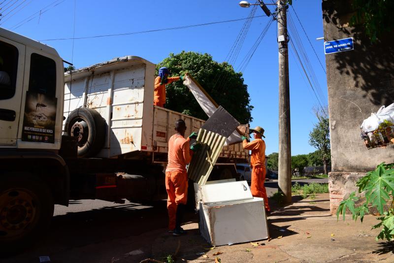Paulo Miguel - Desde o início da campanha, 50 toneladas de lixo foram recolhidas