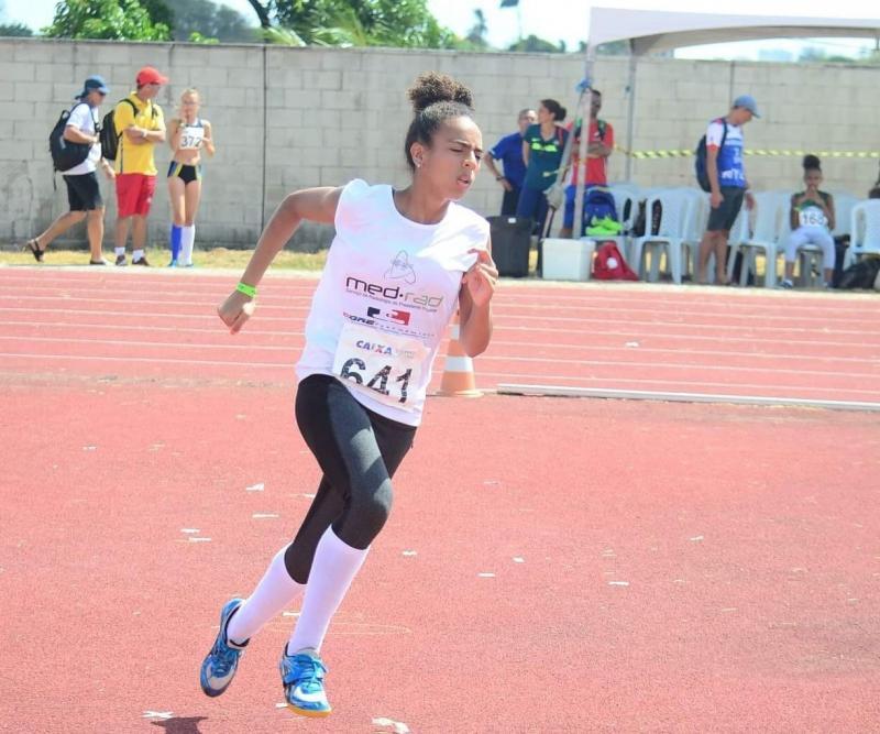 Cedida / Cremilson - Foi em 2017 que Allana começou a escrever seu nome no esporte