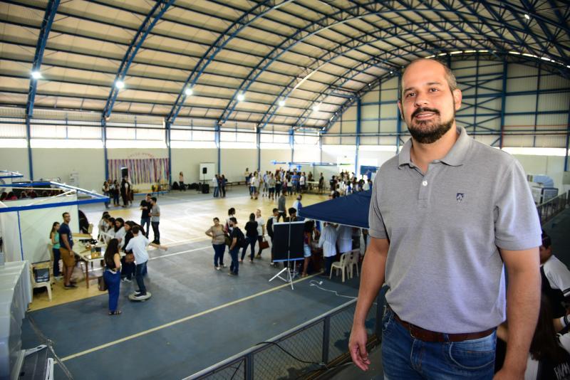 Paulo Miguel - Valdemiro ressalta importância de aproximar a comunidade dos bancos universitários