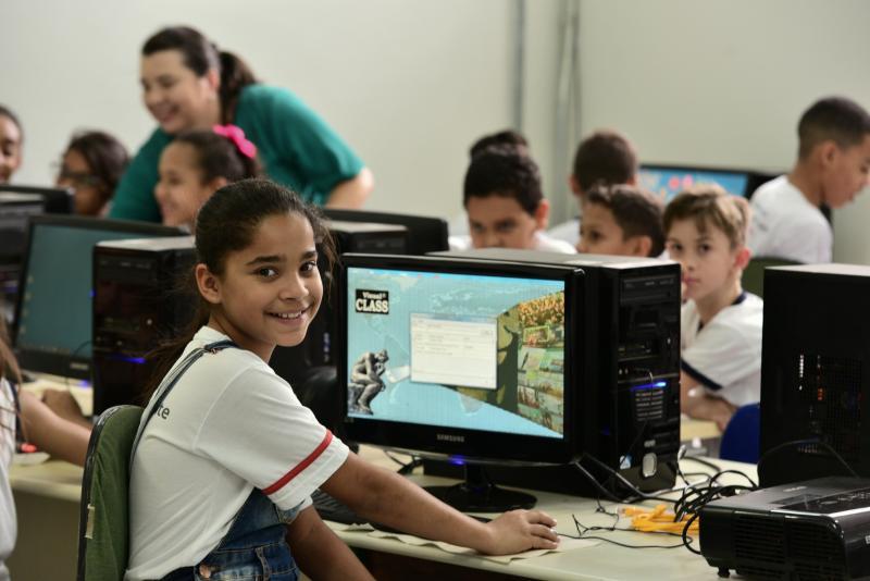 Paulo Miguel - Alunos da Escola MunicipalProfessora Catarina Martins Artero obtiveram bons resultados com simulados digitais