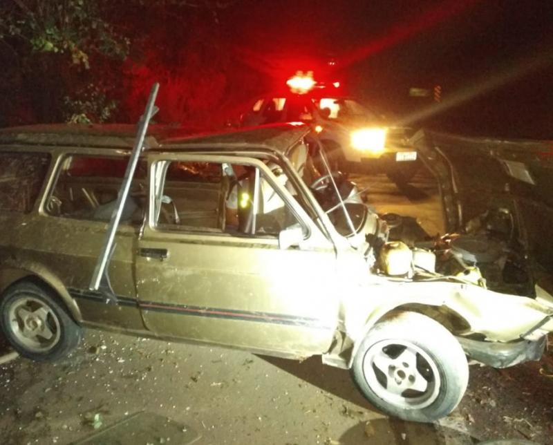 Polícia Militar Rodoviária - Acidente ocorreu no sentido Inúbia Paulista-Osvaldo Cruz