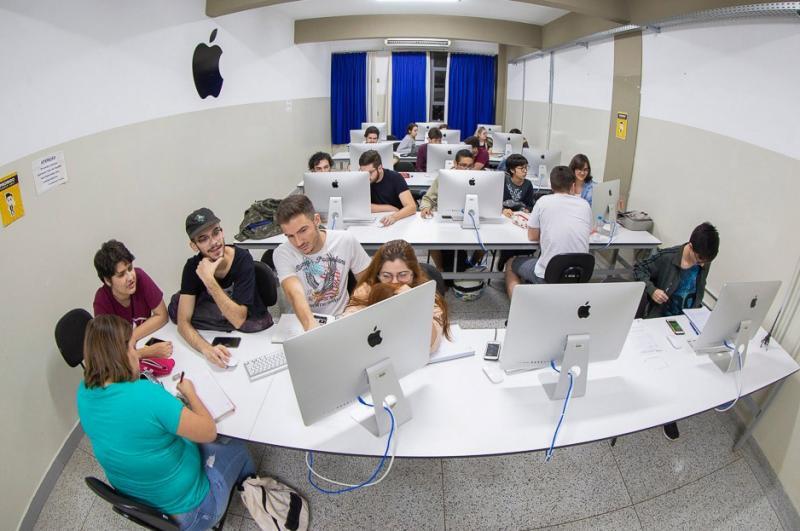 Facopp - Com estrutura de ponta, graduação conta com dois laboratórios de Macintosh