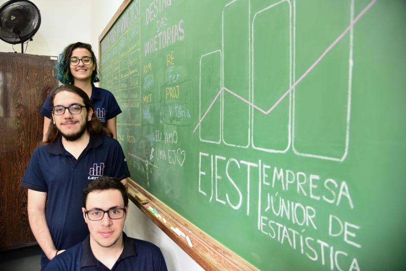 Paulo Miguel - Graduandos têm experiências profissionais na empresa júnior