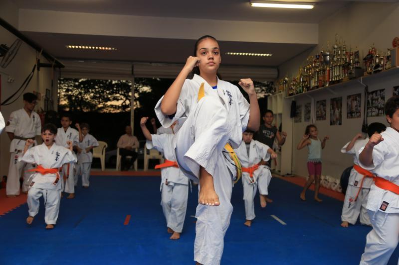Jean Ramalho - Não existe preconceito no tatame: meninos e meninas encantam no caratê; competição em Prudente inicia a partir das 9h