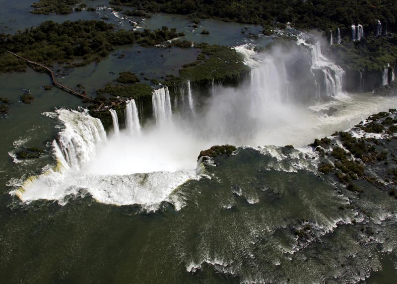Cataratas do Iguazú, uma das Sete Maravilhas da natureza