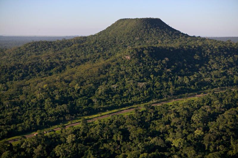 Cedida - Parque estadual é a maior reserva de mata atlântica do interior do Estado