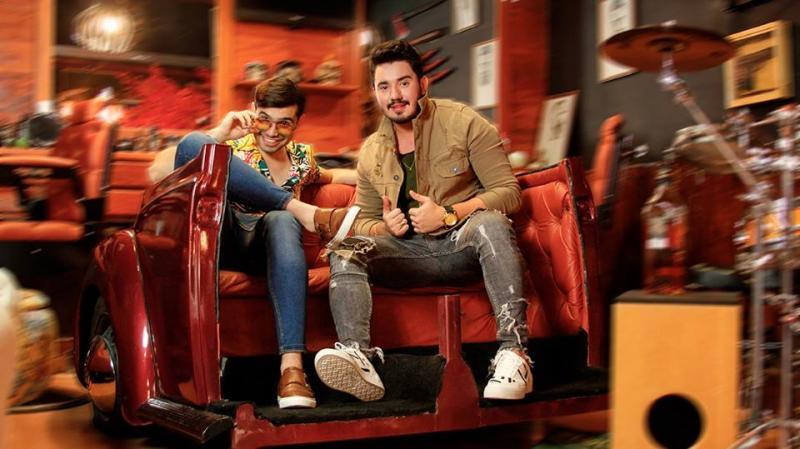 Dupla sertaneja Cesinha & Matheus Vieira anda bombando nas paradas musicais com a nova música em todas plataformas digitais