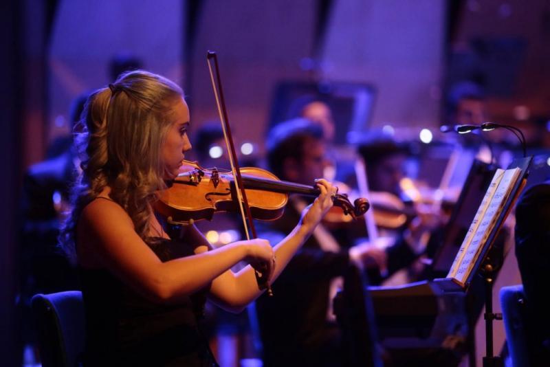 Cedida: Oquestra é formada por 60 músicos e 12 vocais, além do regente Davi Oliveira