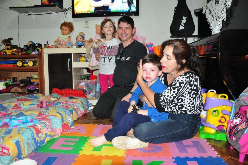José Reis - A família Arraval Arrabal, atualmente, se sente completa e cheia de alegria