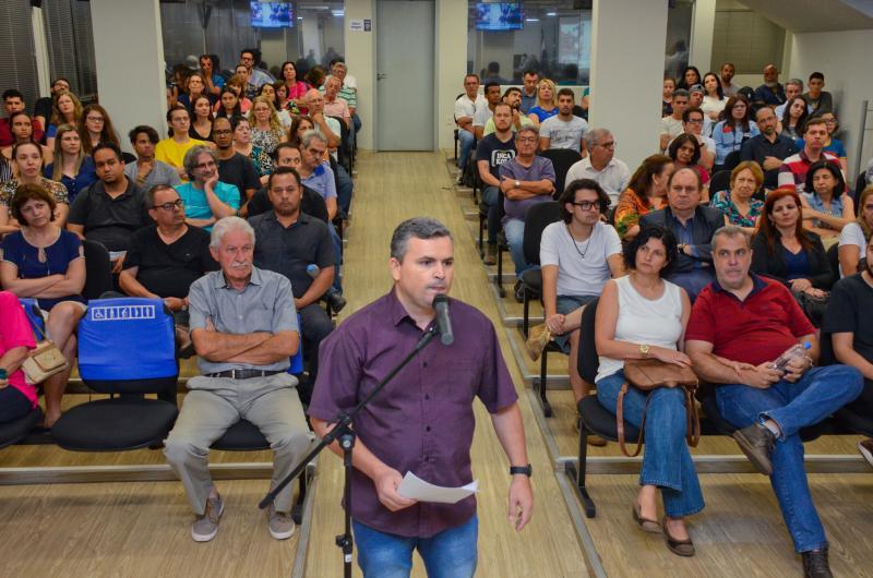 Maycon Morano/Câmara de Prudente - Foram apresentados relatos dos envolvidos, em audiência pública na sexta-feira