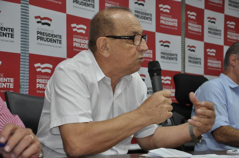 Arquivo - Luchetti afirma que a negociação é imprescindível para as finanças de Prudente