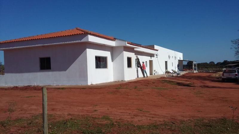 Cedida - Casa Amas durante a fase da reforma da casa de laticínios