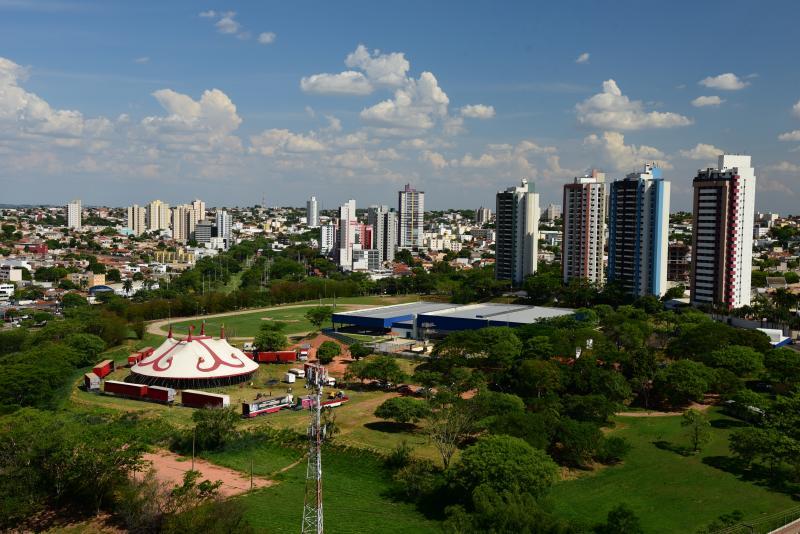 Paulo Miguel:O espetáculo ocorre na lona montada no campo do Centro Olímpico, no Parque do Povo
