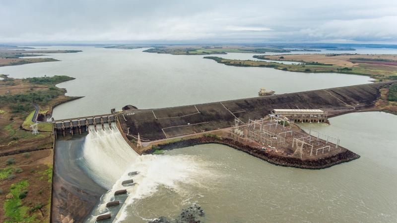 Arquivo - Reservatório da hidrelétrica Capivara fica no Rio Paranapanema