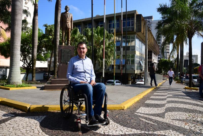 Paulo Miguel - Douglas Kato projeta revitalização do calçadão de Prudente