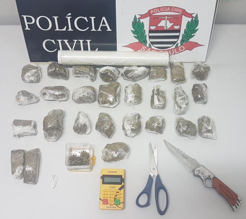 Polícia Civil - Materiais foram recolhidos pela delegacia especializada