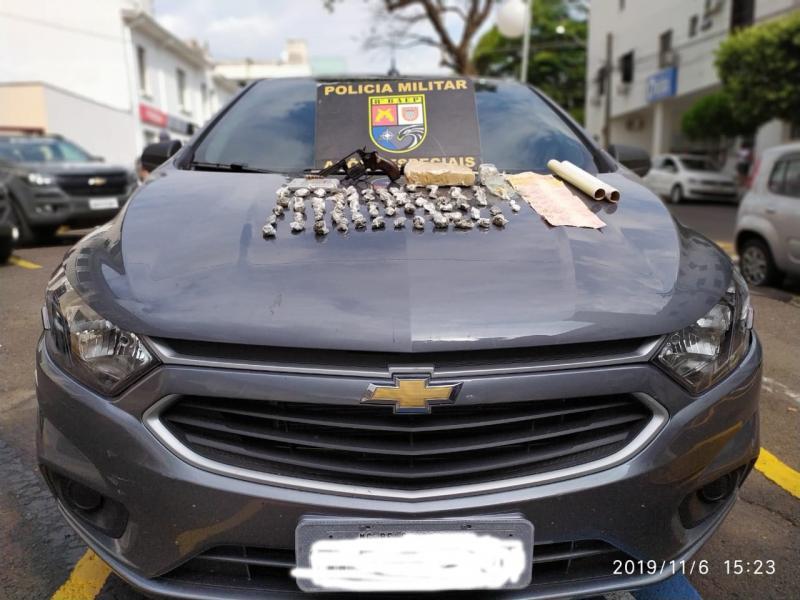 Polícia Militar - Apreensões ocorreram no Jardim São Bento