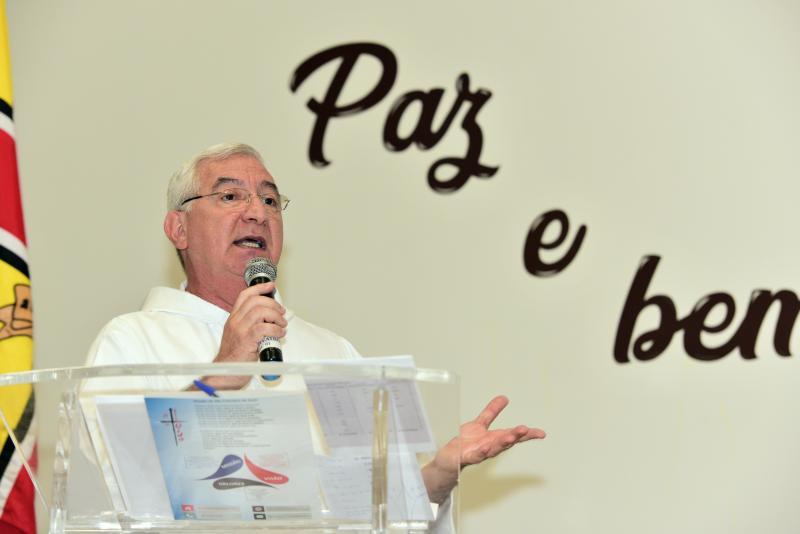 Paulo Miguel - Frei Francisco se orgulha do número de atendimentos do HR, um dos maiores do interior