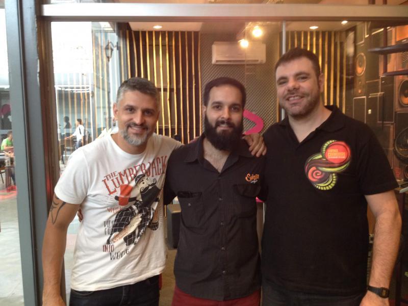 Digo Cavalcante com a Enter Produtora, Guilherme Barba da Cervejaria Suinga e Leandro Dundes do Festival Food organizam hoje o Festival Cervejeiro no Euromarket