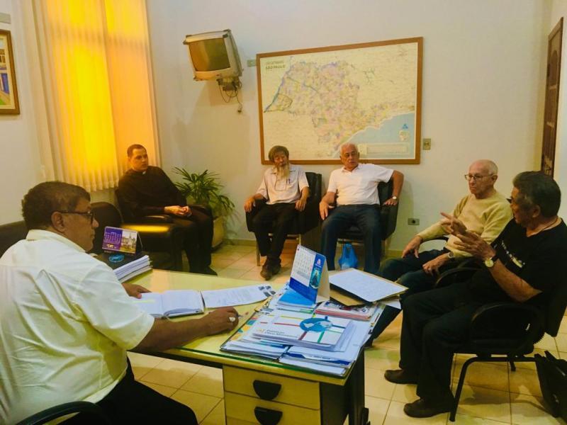 Cedida/ padre Jurandir Severino de Lima:Reunião mais recente sobre o caso foi em PP, em setembro