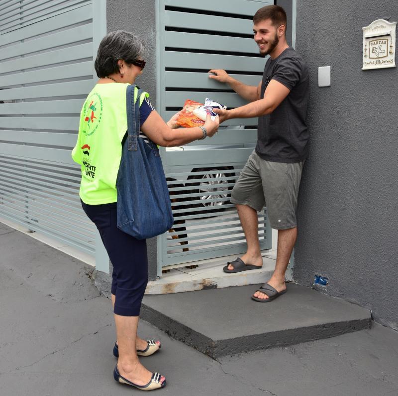 Paulo Miguel - Arrecadação de alimentos reuniu 350 voluntários em 25 bairros