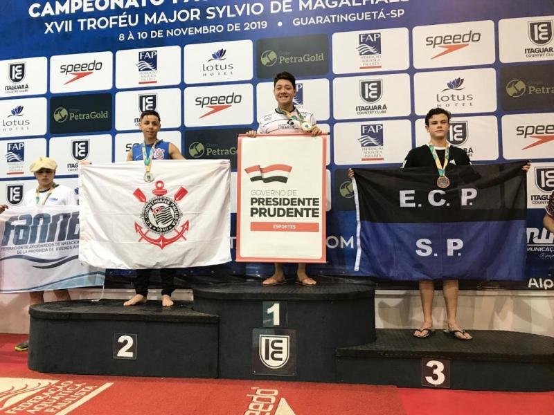Cedida / Pépe:Bruno vai colecionando medalhas e superando desafios