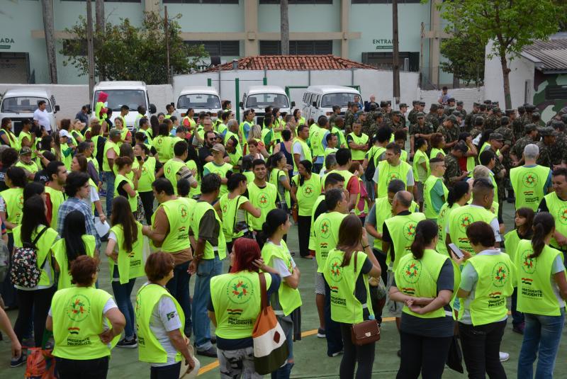 Marcos Sanches/Secom - Concentração ocorreu no TG, de Prudente