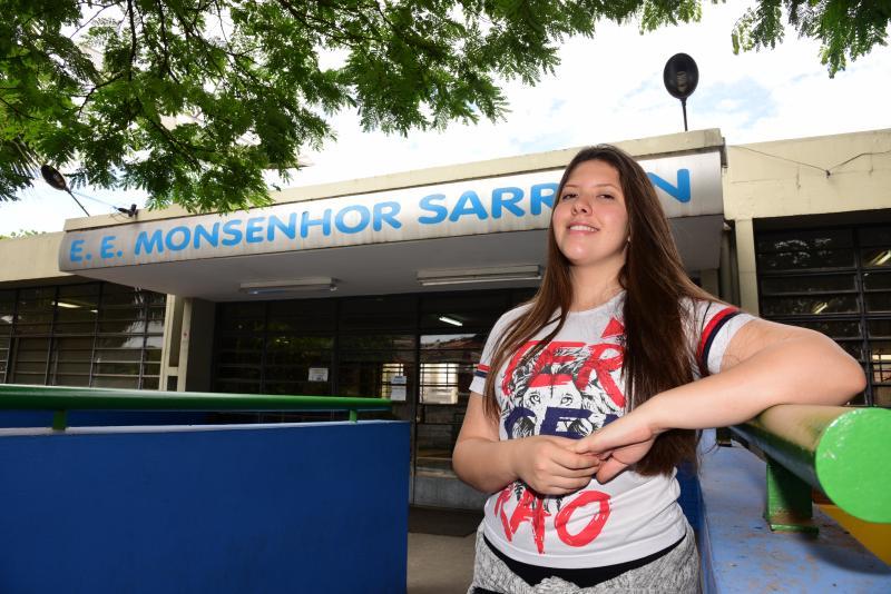 Paulo Miguel - Futura estudante de Medicina, Maria Eduarda acredita que foi bem no exame