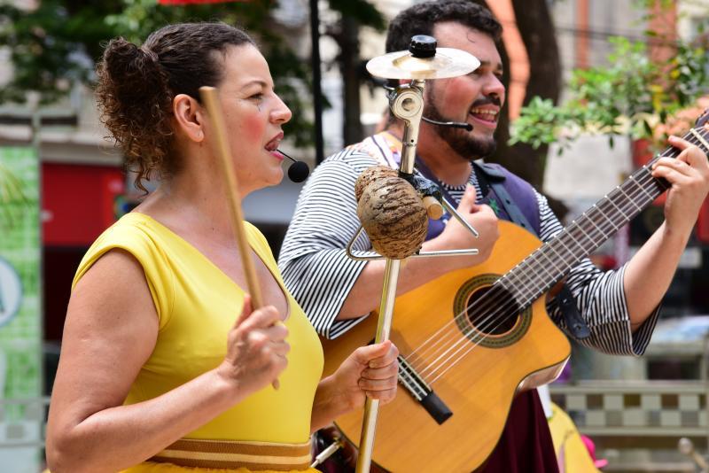 Paulo Miguel:Praça Nove de Julho foi palco do Fentepp