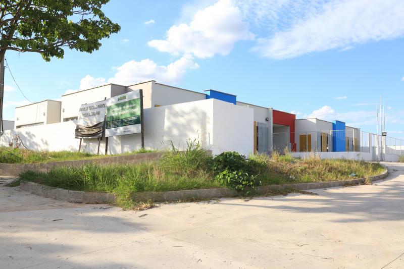 Jean Ramalho - Escola está praticamente concluída e faltam alguns retoques para inauguração