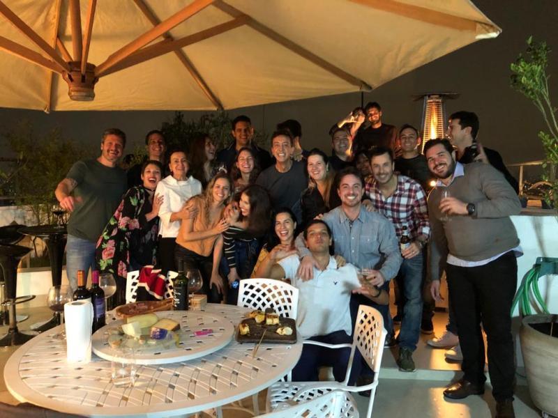 João Ricardo Galindo, grande Jhony Jhony reúne os amigos prudentinos para comemorar mais um aniversário na capital paulista