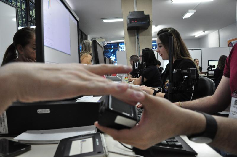 Arquivo - Plantão da biometria vai ocorrer amanhã, feriado, entre 8h e 14h