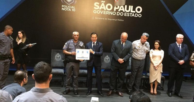 Polícia Militar - Solenidade ocorreu no Palácio dos Bandeirantes, em São Paulo