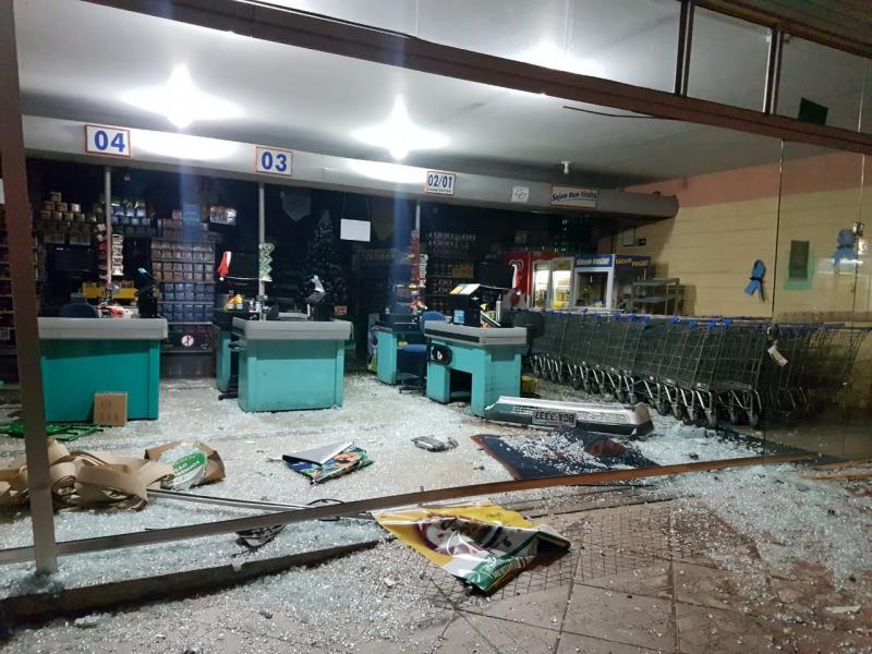 Polícia Militar - Colisão ocorreu no centro de Tupi Paulista