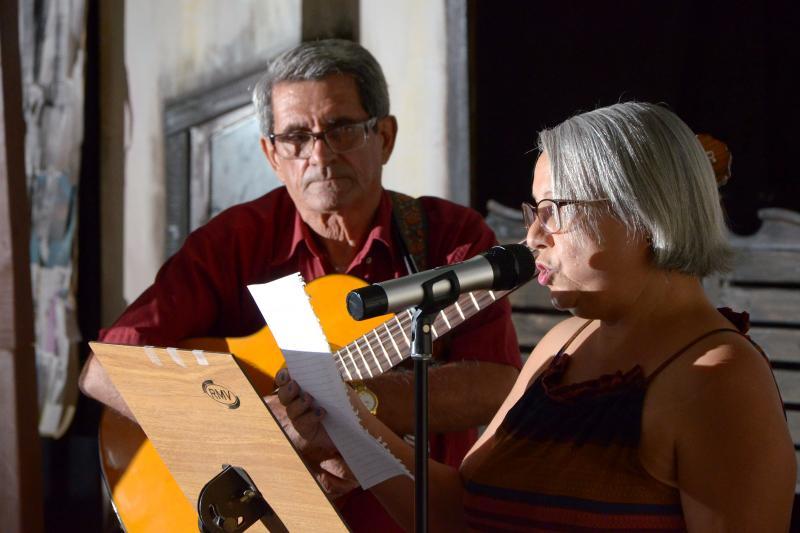 Cedida:Sarau Solidário vincula literatura, música e artes plásticas
