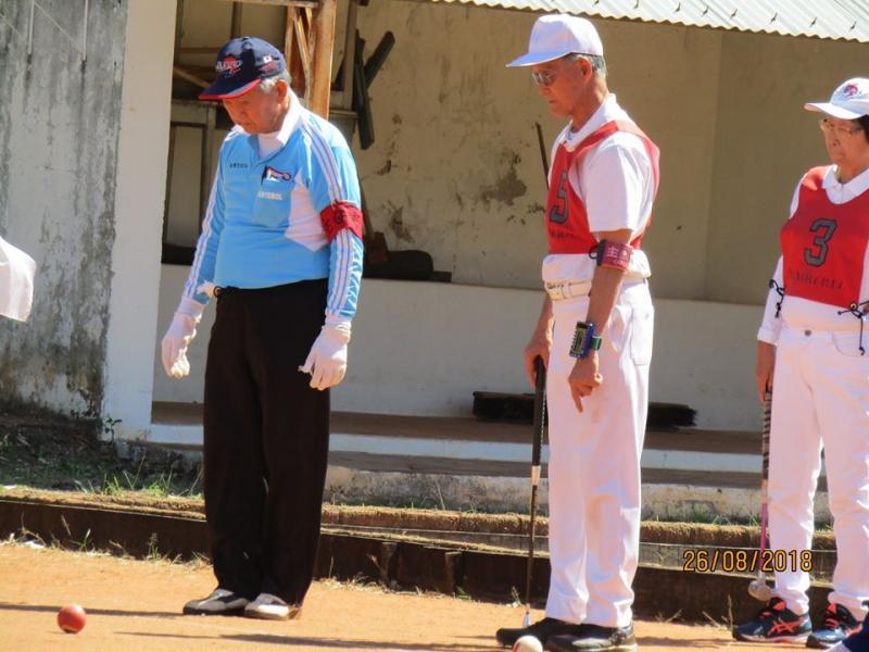 Cedida / Kioka Oshiai - Gueitebol, esporte que vem se consolidando em PP, requer atenção para domínio de território