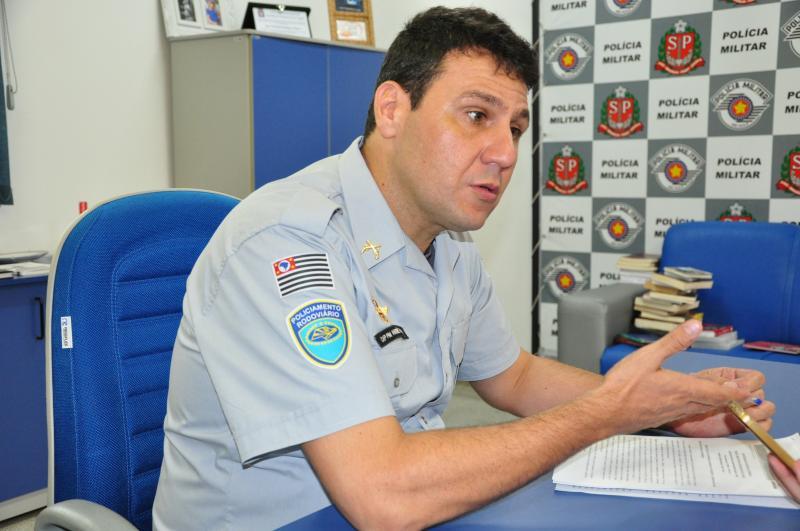 Arquivo - Capitão André afirma que as fiscalizações se intensificaram em 2019
