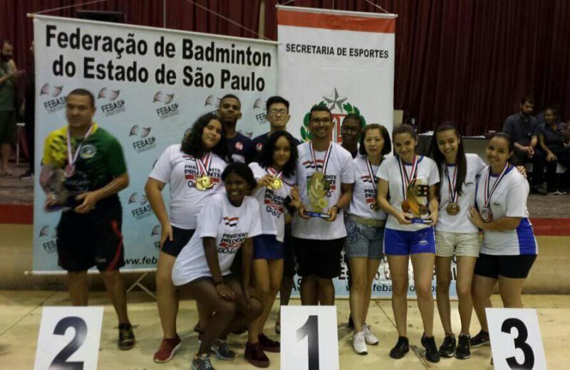 Cedida - Equipe feminina fez bonito nos Jogos Abertos do Interior e faturou o título de campeã geral
