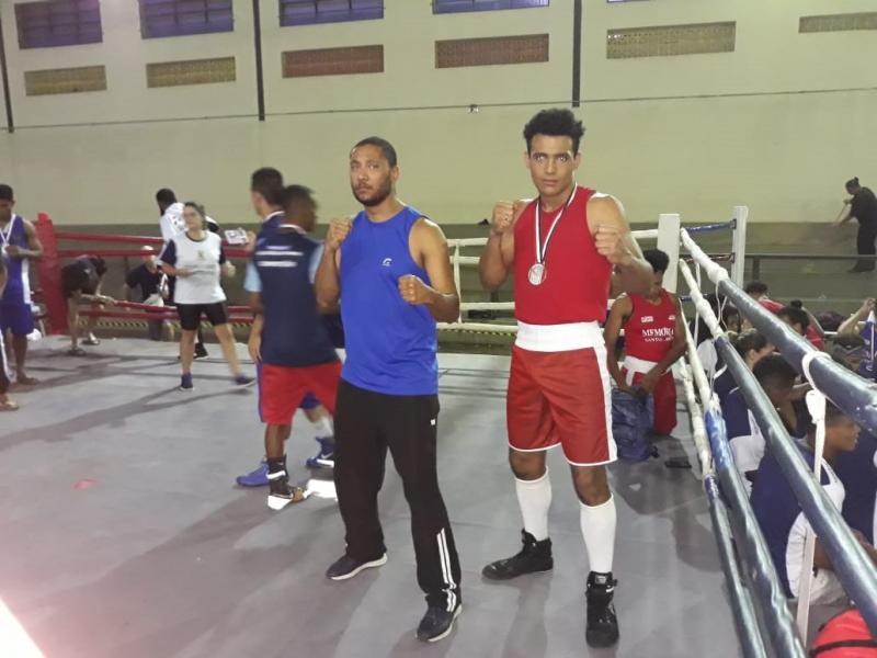 Cedida - Douglas Henrique Rodrigues levou medalha na categoria até 91 kg elite masculino
