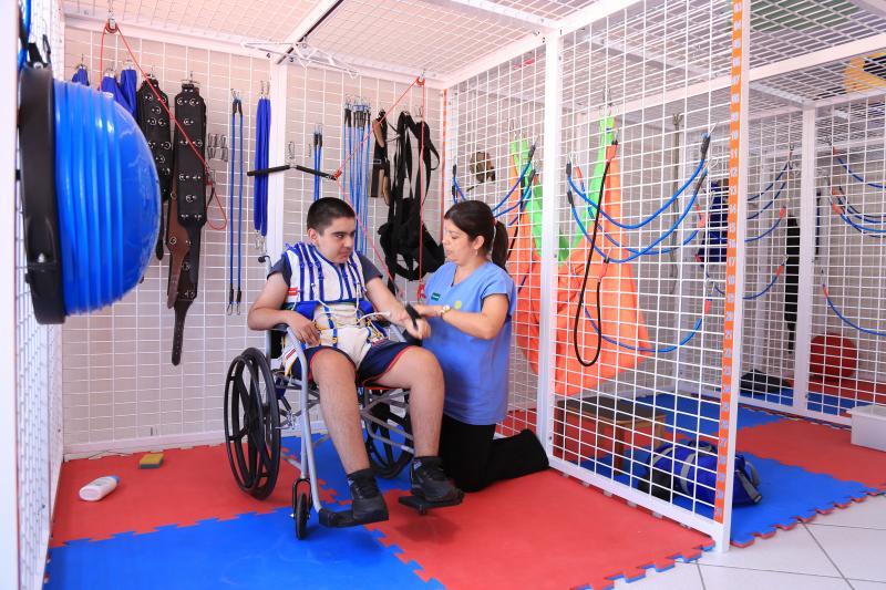 Weverson Nascimento - Nova ala conta com oito salas que receberão terapias diversas para tratamento dos assistidos